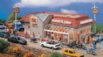 Vollmer 43632 Burger King Restaurant, L. 200 x B. 148 x H. 90mm